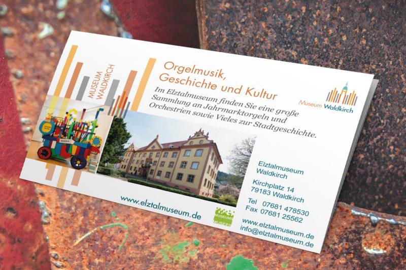 Werbeagentur DN-Medien- Flyer & Zeitungsanzeigen, Elztalmuseum