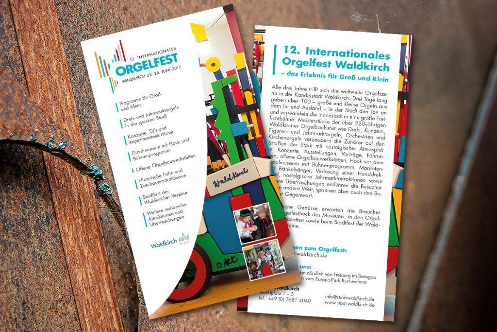 Werbeagentur DN-Medien -flyer-orgelfest-waldkirch