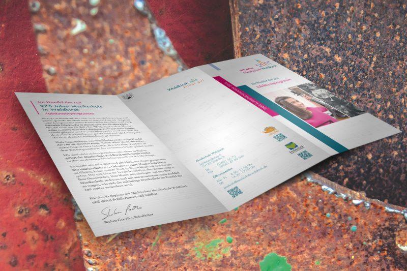 Werbeagentur DN-Medien- Stadt Waldkirch / Gestaltung & Druck, Folder