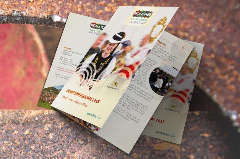 WerbeagenturDN-Medien- Gestaltung & Druck, Broschüre Heimattage Waldkirch
