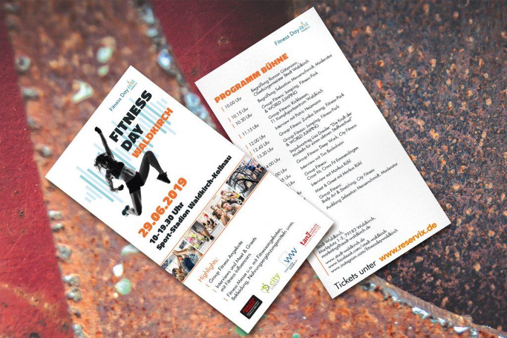 Werbeagentur DN-Medien- Gestaltung & Druck, Flyer / Waldkirch