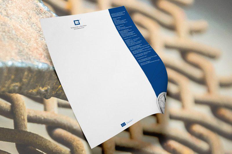 WerbeagenturDN-Medien - Briefpapier Schlotter / Elzach